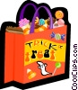 Vector Clip Art graphic  of a Halloween