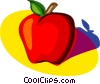 Vector Clipart illustration  of an apple