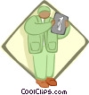 Vector Clip Art graphic  of a doctor