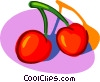 cherry Vector Clipart picture