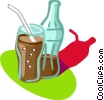 Vector Clipart graphic  of a cola