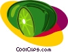 Vector Clip Art image  of a fruit
