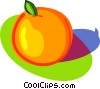 Vector Clip Art graphic  of a orange