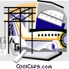 Vector Clip Art picture  of an aircraft design