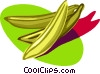 bananas, fruit Vector Clip Art picture