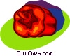 red pepper Vector Clipart picture