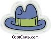 Vector Clip Art picture  of a hat