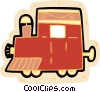 Vector Clipart graphic  of a locomotive