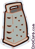 food grater Vector Clip Art graphic