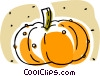 pumpkin, squash Vector Clip Art picture