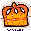 Vector Clipart image  of a king's crown
