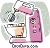 electric mixer Vector Clip Art picture