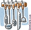 kitchen tools Vector Clip Art picture