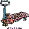 Vector Clipart graphic  of a pump jack