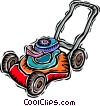 Vector Clipart picture  of a lawnmower