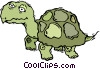 turtle, tortoise Vector Clip Art picture