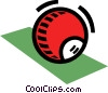 Vector Clip Art picture  of a Pool ball