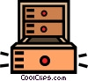 Vector Clip Art picture  of a chest
