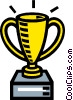 award, trophy, cup Vector Clipart graphic