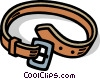clothes, belt Vector Clipart illustration