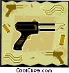 Vector Clipart graphic  of a soldering gun