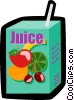 Vector Clipart illustration  of a Juice