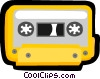 cassette tape Vector Clip Art picture