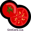 tomato, fruit, vegetable Vector Clip Art graphic