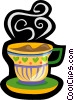 coffee, Java, tea, hot drink Vector Clipart illustration
