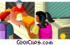 ice cream truck Vector Clip Art image