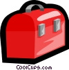 Vector Clip Art picture  of a toolbox