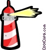 Vector Clipart image  of a lighthouse