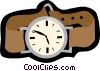 Vector Clipart image  of a wrist watch