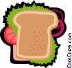 Vector Clipart illustration  of a snack