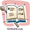 cookbook Vector Clipart picture