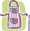 Vector Clipart graphic  of an apron