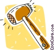 Vector Clipart illustration  of a food mallet