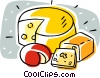 cheeses Vector Clip Art picture