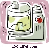 Vector Clipart graphic  of a electric blender