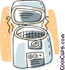 Vector Clipart graphic  of a pressure cooker