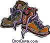 Vector Clipart graphic  of a hiking boots