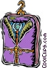 travel bag Vector Clipart illustration