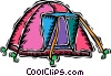 dome tent Vector Clipart picture
