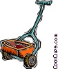 Vector Clip Art image  of a fertilizer spreader