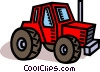 Vector Clipart illustration  of a farm tracker