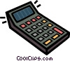 calculator Vector Clipart graphic