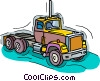 truck, transport truck Vector Clipart picture