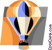 hot air balloon Vector Clip Art graphic