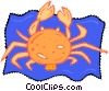 crab Vector Clip Art graphic