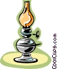 lamp Vector Clipart graphic